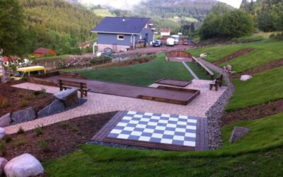 Aménagement de jardin dans les Vosges