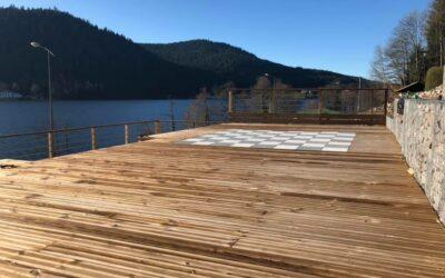 Terrasse bois à Gérardmer: Joannes Paysages réalise du sur-mesure